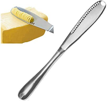 Stainless Butter Spreader Professional Serrated product image