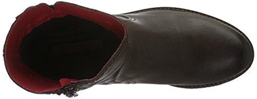 Buffalo London Es 30836 Singapura, Zapatillas de Estar por Casa para Mujer Marrón - Braun (castanho 01)