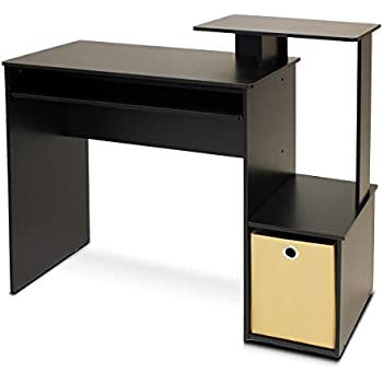 office wooden table l shape furinno econ multipurpose home office computer writing desk with bin amazoncom south shore axess keyboard tray black