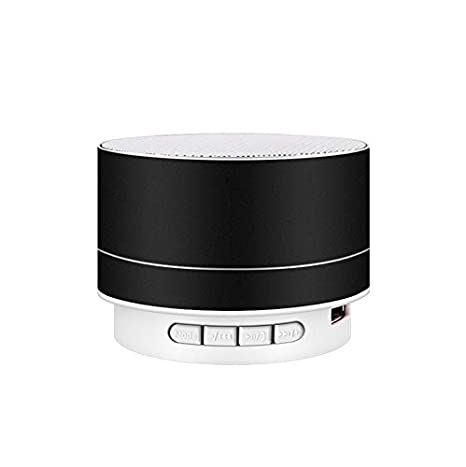 Amazon.com: PinShang Wirelesss LED Glowing Bluetooth Receiver Hands-Free Music Player Metal Bluetooth Speaker Black: Cell Phones & Accessories