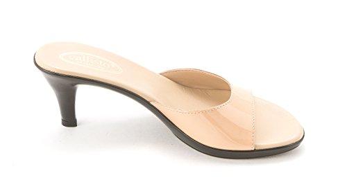 Callisto - Sandalias de vestir para mujer NUDE PAT
