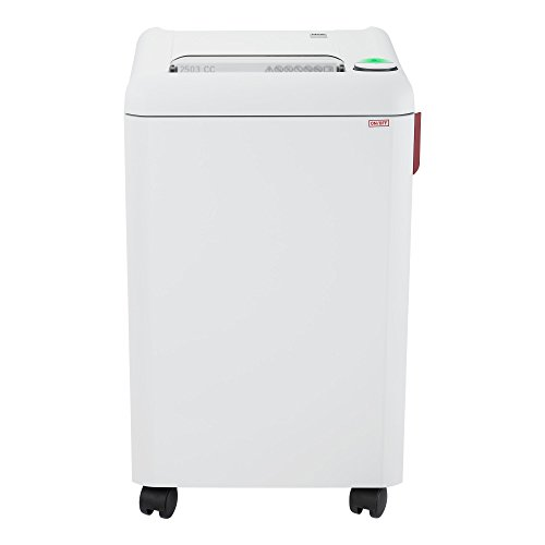 Ideal. 2503 Continuous Operation Cross Cut Centralized Office Paper/Credit Card Shredder, 12-14 sheet, 20 Gal Bin, 3/4 HP Motor, P-4 Security Level by Ideal
