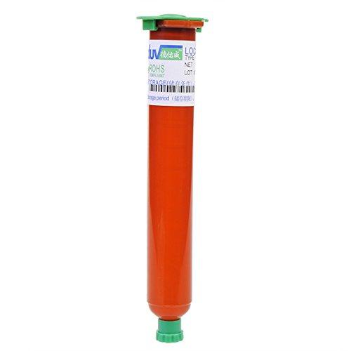 HITSAN TP-2500 50ml UV LOCA Glue Liquid Optical Clear Adhesive Glue One Piece