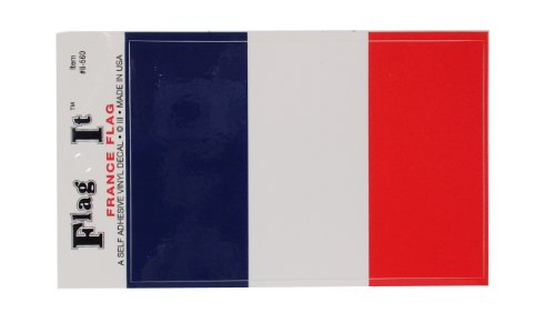 French Flag Self Adhesive 3