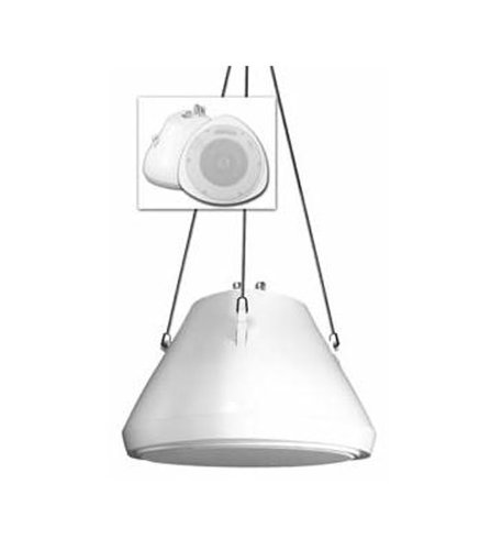 Speco 30 Watt 5.25 Pendant Speaker And Chain Wh by Speco