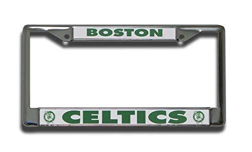 Car Decorations NBA Chrome Plate Frame