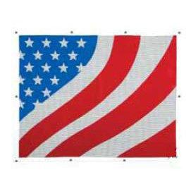 Freightliner USA America Flag Bugshield Flag 2044F-FLAG