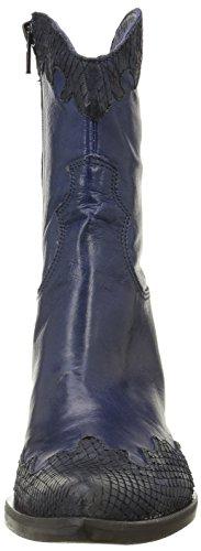 Donna Piu 8356 Enea - Botas Mujer Azul - Bleu (Mamba Blu/California Blu)