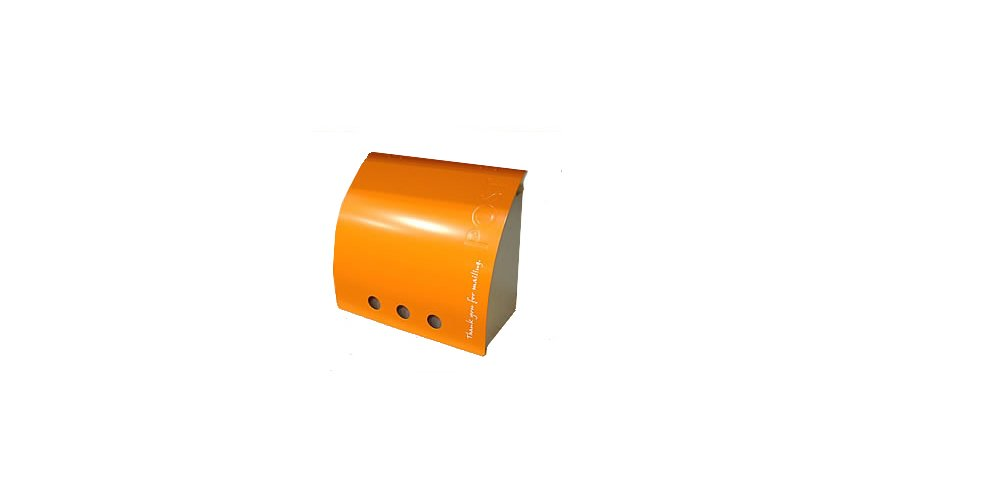 ポスト ラッセルポスト:ランドセル型の郵便ポスト  オレンジ B00MBAGZQ0 オレンジ オレンジ