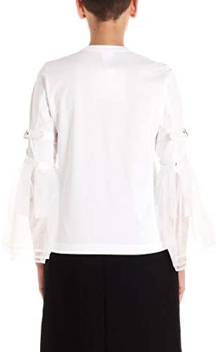 NOIR KEI NINOMIYA Luxury Fashion Donna 3DT0100512 Bianco Nylon T-Shirt   Autunno-Inverno 19