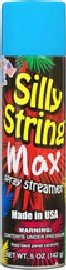 Silly String Max Spray Streamer 5oz