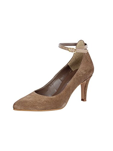 Patrizia Dini Women's Court Shoes Brown Brown - BROWN DWpNgYl6A1