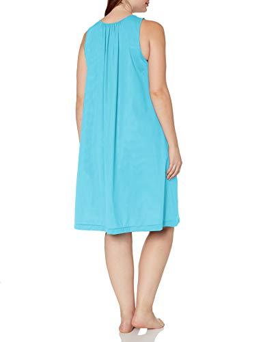 thumbnail 3 - Shadowline-Women-039-s-Plus-Size-Petals-40-Inch-Sleeve-Choose-SZ-color