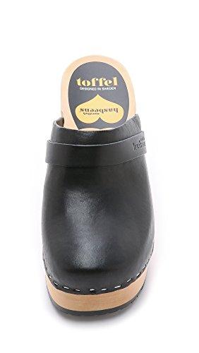 Women's swedish TRmp35JvGZe Platform hasbeens Black Sandal Tw0wBq5
