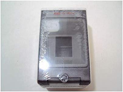 Coffret 2 modules /étanche gris EUROPA IP65 160X100X100mm IK10 ABB 152742