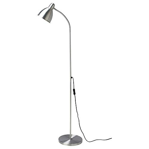 IKEA 204.164.04 Lersta Floor/Reading Lamp with Led Bulb, Aluminum