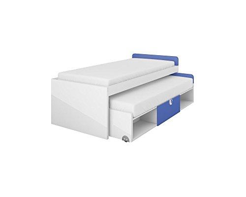 Bett Doppelbett Ausziehbett YETI mit matratzen