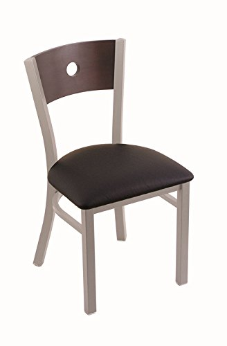 Holland Bar Stool 63018ANDCMplBBlkVinyl 630 Voltaire 18