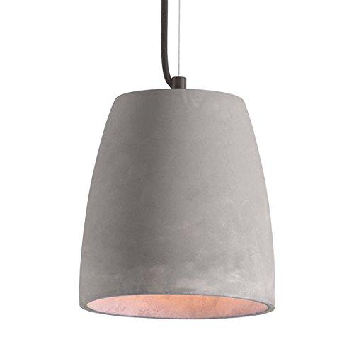 Cast Concrete Pendant Light