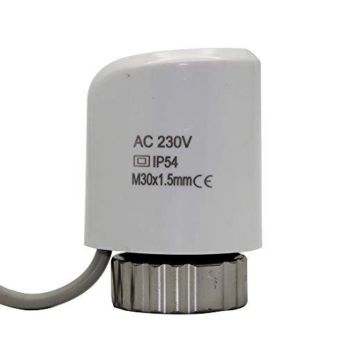 OTADO 230V NO Válvula eléctrica de actuador térmico para calefacción de piso radiador control de válvula normalmente...