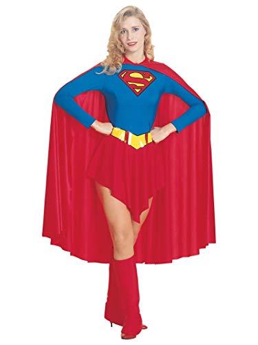 Girl Superhero Costumes Ideas (Women's Classic Supergirl Costume, White,)