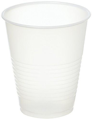 Dart Y12S Conex Translucent Plastic Cold Cups, 12oz 50 per Bag (Pack of 1 Sleeve) -