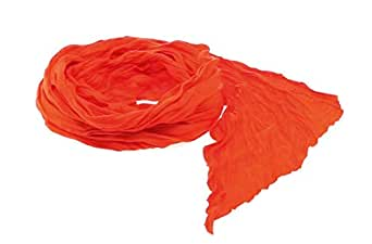 Lady scarf, Soft foulard in combination of cotton and polyester materials