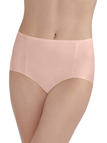 (Vanity Fair Women's Underwear Nearly Invisible Panty, in The Buff, Medium/6)