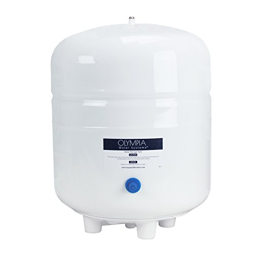 Olympia Water Systems 3.2 Gallon Pre-Pressurized Reverse Osmosis Water Storage Tank by Olympia Water Systems