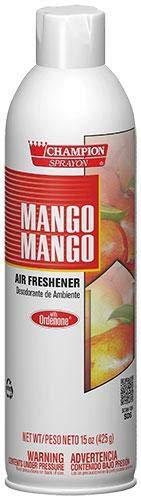 - Mango Mango Air Freshener Spray, Water-Based, Champion Sprayon 15 oz Can, Box of 12