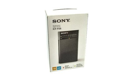Sony ICFP26 Portable AM/FM Radio (Black)