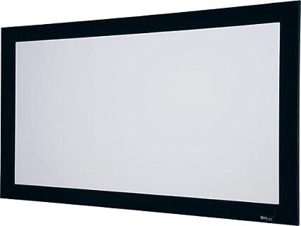 Amazon.com: Onyx Matt White Fixed Frame Projection Screen Viewing ...