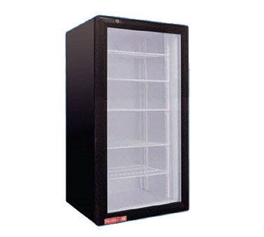 Grindmaster CTR3.75 1 Swing Glass Door Countertop Merchandiser Refrigerator by Grindmaster