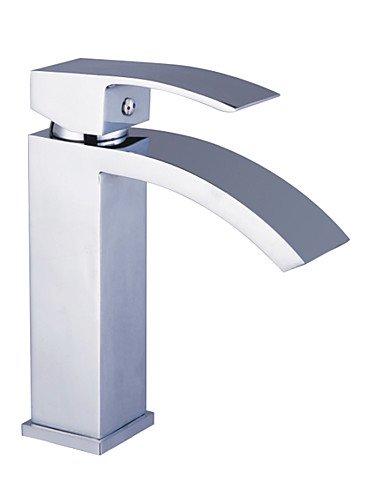 Messing WasserfaÖl Waschbecken Wasserhahn - Chrom-Finish