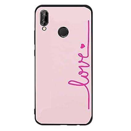 Amazon.com: 1 piece Soft TPU For 5.84 Huawei P20 Lite Case ...