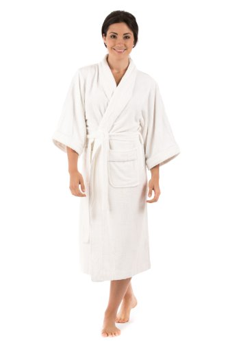 Terry Cloth Bathrobe Robe for Women Best Christmas Gifts for Her Holiday Xmas Gift Ideas - Women