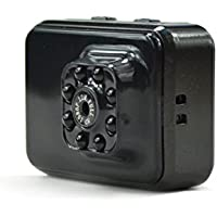 1080P HD Mini WiFi P2P Camera Small Camera Built in 32GB Card Memory Portable Sports Camera with IR Night Vision,Digital Video Recorder, Nanny Cam《Black》》