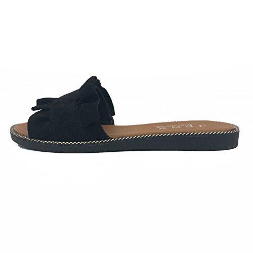 nbsp; ZHANGRONG Couleur Pantoufles Des taille Été Chaussures 39 Sandales Plates Waichuan Plage C Pantoufles Femelle nbsp; nbsp; C De 67rxtq7