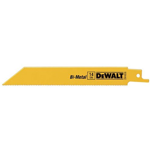 DeWALT® 18 TPI Bi-Metal 8 in. Saw Blades 5 ct Peg