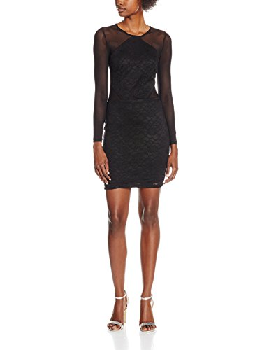 SELFRIDGE MISS Damen Bodycon Mesh Schwarz Black Black Kleid 8xZgdwx