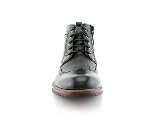 Conal International MFA806278 Mens Michael Boot, Black - 9.5