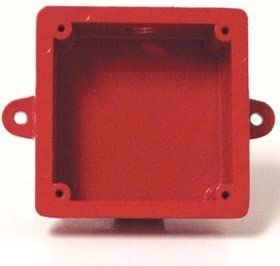 Fire Alarm Bell Back Box Indoor and Outdoor Electrical