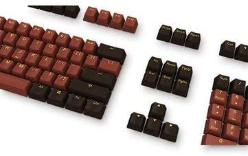 1 X Ducky 108 Key OEM Profile PBT Chocolate Keycaps Keycap Set MITUHAKI X Ducky 108 Key Profile PBT Chocolate Keycaps Keycap Set for Mechanical Keyboard Keyboards /& Mouse Keycaps /& Switches