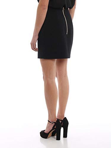 Balmain Laine Noir Rf14201w0230pa Jupe Femme rBq1gZ7Wr