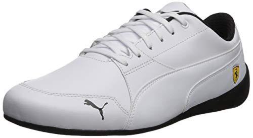 PUMA Men's Ferrari Drift Cat Sneaker White, 7 M US ()