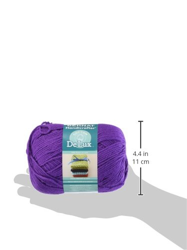 Spinrite Handicrafter Delux Cotton Yarn, Purple by Spinrite (Image #2)