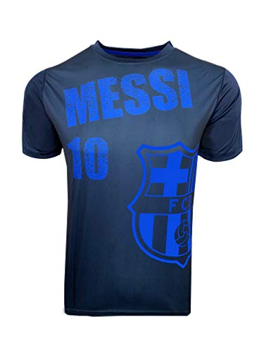 - Messi T-Shirt for Kids, Official Barcelona Soccer Shirt Lionel Messi #10 (Youth Medium 7 to 9 Years) Blue
