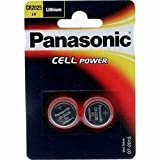 Panasonic Cr-2025 Lithium Coin Battery - Twin Pack [Watch]