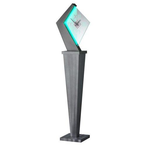 Nova Lighting Recoil Clock, 65 by 11 by (Aluminum Floor Clock)
