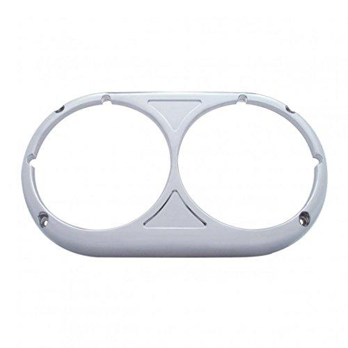 Stainless Steel Peterbilt 359 Headlight Bezel - Original Style by United Pacific Chrome